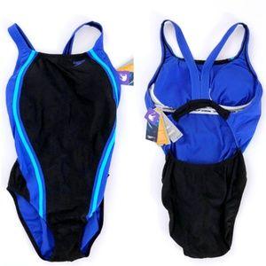 Speedo Fit Women's One Piece Bathing Suit